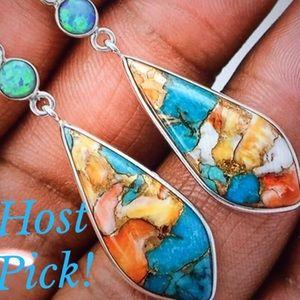 Jewelry - BOHO TURQUOISE EARRINGS